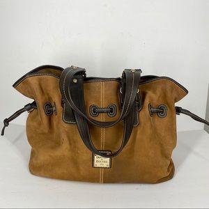 Dooney & Bourke Handbag Brown Soft Leather